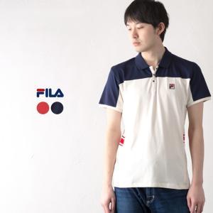 フィラ US企画 ギリェルモ・ビラス ポロシャツ  FILA MIVVI POLO SHIRT メンズ テニス ポロシャツ|cocochiya