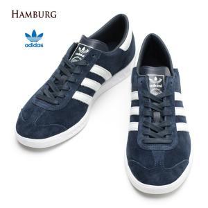 アディダス オリジナルス adidas Originals ハンブルグ Hamburg カレッジネイビーランニングホワイト S74838|cocochiya