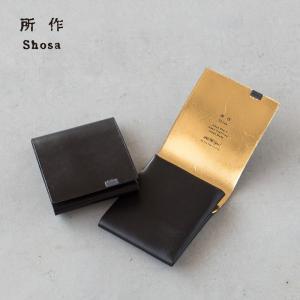所作 ショートウォレット 2.0 ボレロ shosa SHO-SH2B BOLERO 日本製 本革レザー 財布|cocochiya