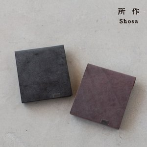 所作 ショートウォレット 2.0 ブライドル shosa SHO-SH2C BRIDLE 日本製 本革 三つ折り財布|cocochiya