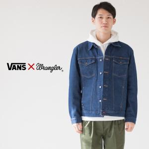 バンズ × ラングラー デニム ジャケット VN0A3HP3IND メンズ ブロークンデニム|cocochiya