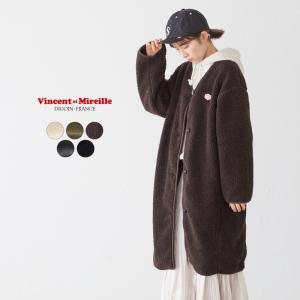 ヴァンソン エ ミレイユ ボア ガウン VM192MB25152 ロングコート|cocochiya