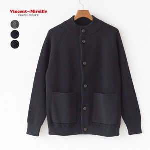 ヴァンソンエミレイユ モックネック カーディガン VM182WA28061|cocochiya