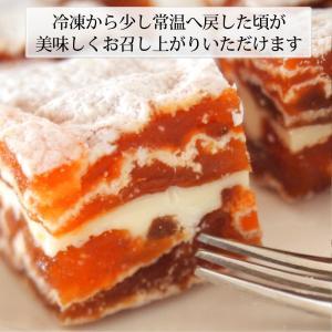 市田柿 ミルフィーユ 干し柿 チーズサンド スイーツ 2個セット 送料無料|cocodani|07