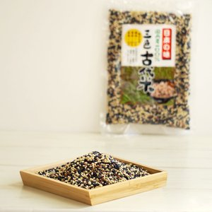 古代米 黒米 赤米 緑米 国産 雑穀米 玄米 3種類 古代米だけ 穀物|cocodani