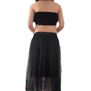 マタニティ フォト 衣装 妊婦 写真 ドレス チューブトップ ロングスカート リボン 2点セット|cocodani|06