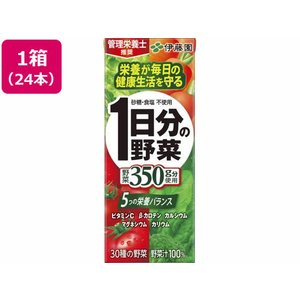 伊藤園/一日分の野菜 200ml 24本