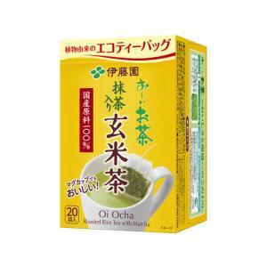 伊藤園/お〜いお茶 ティーバッグ 玄米茶 2.0g×20パック