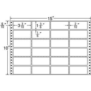 NANA/連続ラベルナナフォーム 15×10インチ 24面 500折/M15J cocodecow