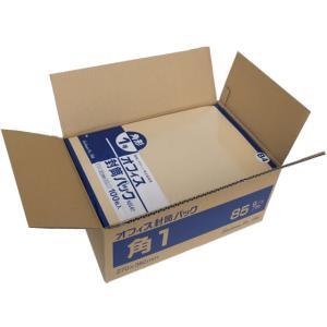 クラフト封筒 角1 85g/m2 500枚/K85-K1|cocodecow
