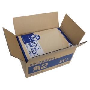 クラフト封筒 角2 85g/m2 500枚/K85-K2|cocodecow