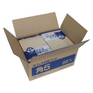 クラフト封筒 角5 85g/m2 1000枚/K85-K5|cocodecow