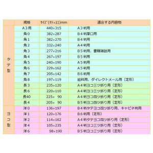 ツバメ工業/ホワイト封筒 長4 80g/m2 1000枚/W80-N4|cocodecow|02