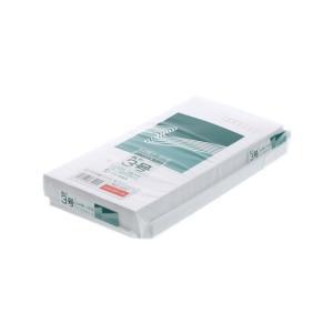 ホワイト封筒 テープ付 長3 100枚/832|cocodecow
