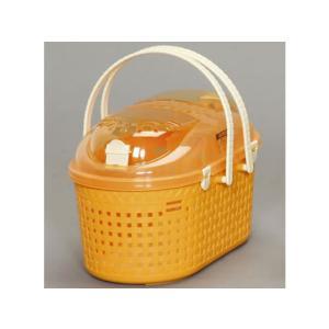 アイリスオーヤマ/メッシュペットキャリー オレンジ/MPC-450/314104 cocodecow