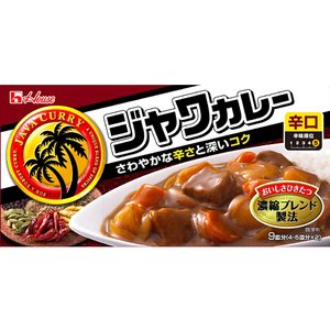 ハウス食品/ジャワカレー辛口 185g