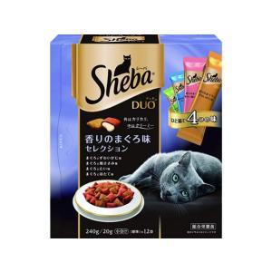 マース/シーバデュオ 香りのまぐろ味セレクション 240g/SDU12
