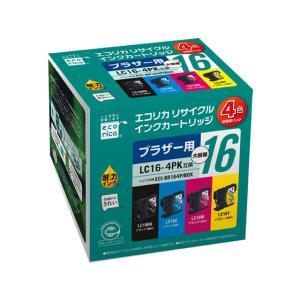 エコリカ/BOXリサイクルインク 4色セット/ECI-BR164P/BOX|cocodecow