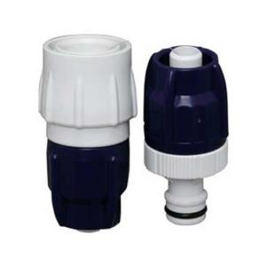 【商品説明】濡れ手でも回しやすく、ホースプロテクター(破裂防止対応)を内蔵!コンパクト形状です。【仕...