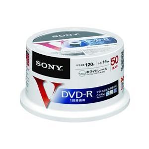 ソニー/CPRM対応ビデオ用DVD-R 16倍速 50枚スピンドルケース入|cocodecow