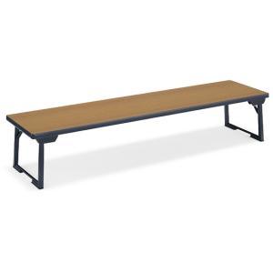 コクヨ/脚折りたたみ式テーブルKTC-40和机 W1800*D450チーク