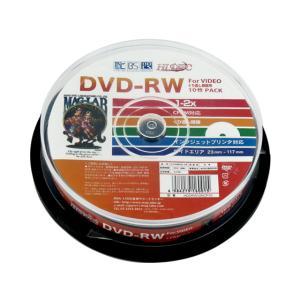 HIDISC/CPRM対応 DVD-RW 4.7GB 2倍速 10枚 スピンドル cocodecow