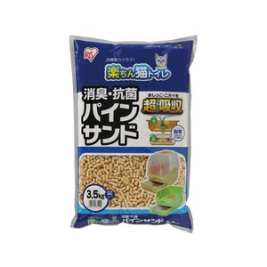 アイリスオーヤマ/楽ちん猫トイレ消臭・抗菌パインサンド3.5kg /RCT-35