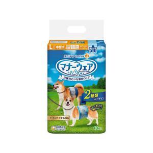 ユニチャーム/マナーウェア 男の子用 中型犬用 40枚 cocodecow
