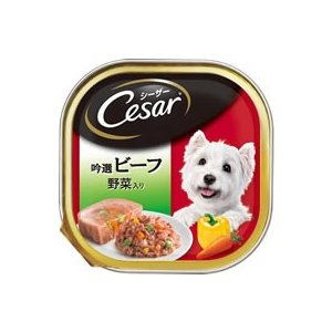 マースジャパン/シーザー吟撰ビーフ 野菜入 100g/CE27N|cocodecow