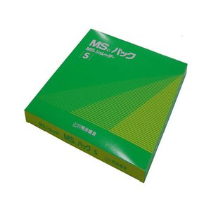 明光商会/MSシュレッダー用袋 MSパック S 透明 100枚/MSパックS|cocodecow