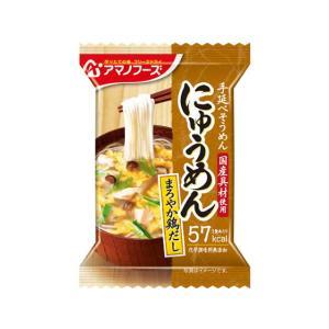 アマノフーズ/にゅうめん まろやか鶏だし 1食の商品画像