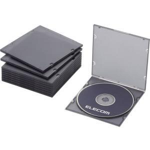 エレコム/Blu-ray/DVD/CDスリムケース/CCD-JPCS10CBK cocodecow
