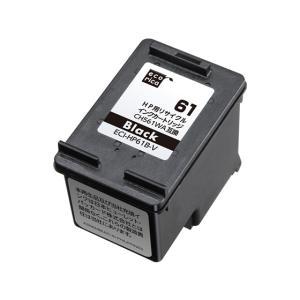 エコリカ/CH561WA互換 リサイクルインクカートリッジ ブラック/ECI-HP61B-V|cocodecow