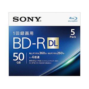 ソニー/1回録画用ブルーレイディスク 50GB 4倍速 5枚/5BNR2VJPS4|cocodecow
