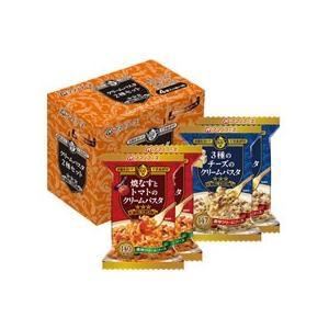 アマノフーズ/三ツ星キッチン クリームパスタ2種セット 4食