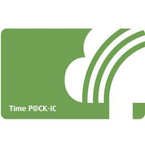 アマノ/iC P@CKカード 追加購入用カード/2607701