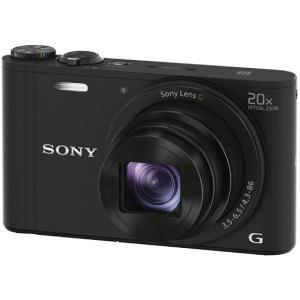 ソニー/デジタルスチルカメラ サイバーショット ブラック/DSC-WX350 B|cocodecow