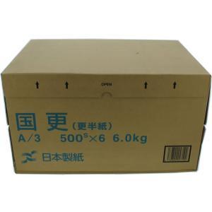 ゴークラ/わら半紙 国更A3 500枚×6冊/クニザラA36K1000|cocodecow
