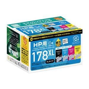 エコリカ/HP178XL互換リサイクルインク 4色パック/ECI-HP178XLV-4P|cocodecow
