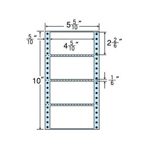 NANA/連続ラベル 剥離紙ブルータイプ (500折×2)/NX05EB cocodecow