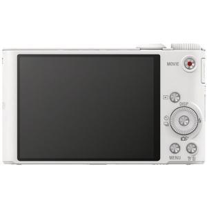 ソニー/デジタルスチルカメラ サイバーショット ホワイト/DSC-WX350 W|cocodecow|02
