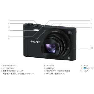 ソニー/デジタルスチルカメラ サイバーショット ホワイト/DSC-WX350 W|cocodecow|04