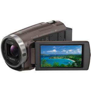 ソニー/デジタルHDビデオカメラ ハンディカム ブラウン/HDR-CX680 TI|cocodecow