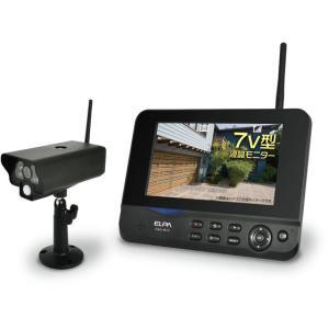 朝日電器/ワイヤレスカメラ&モニターセット/CMS-7001|cocodecow