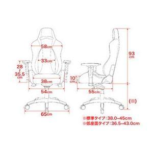 AKRacing/ゲーミングチェア Premium 低座面タイプ カーボンブラック|cocodecow|05