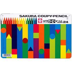 サクラ/クーピーペンシル 24色セット(缶入...の関連商品10