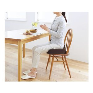 コジット/腰痛対策クッション ブラウン/93451|cocodecow|05