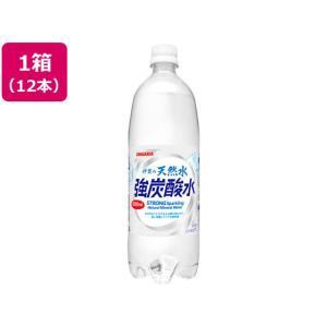 日本サンガリア/伊賀の天然水 強炭酸水 1L×12本|cocodecow