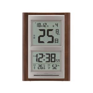 アデッソ/デジタル日めくり電波時計/NA-101 cocodecow