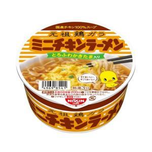 日清食品/ミニチキンラーメンどんぶり 38g